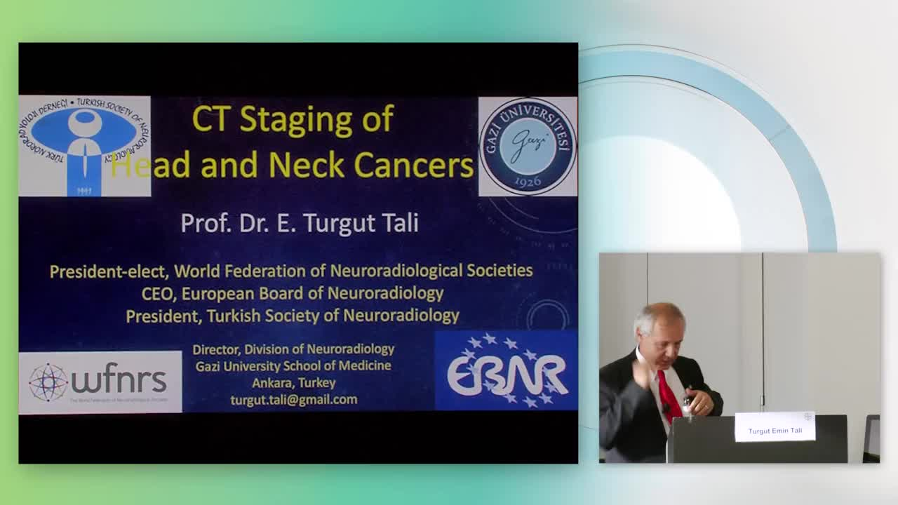 Turgut Tali: CT staging of head and neck